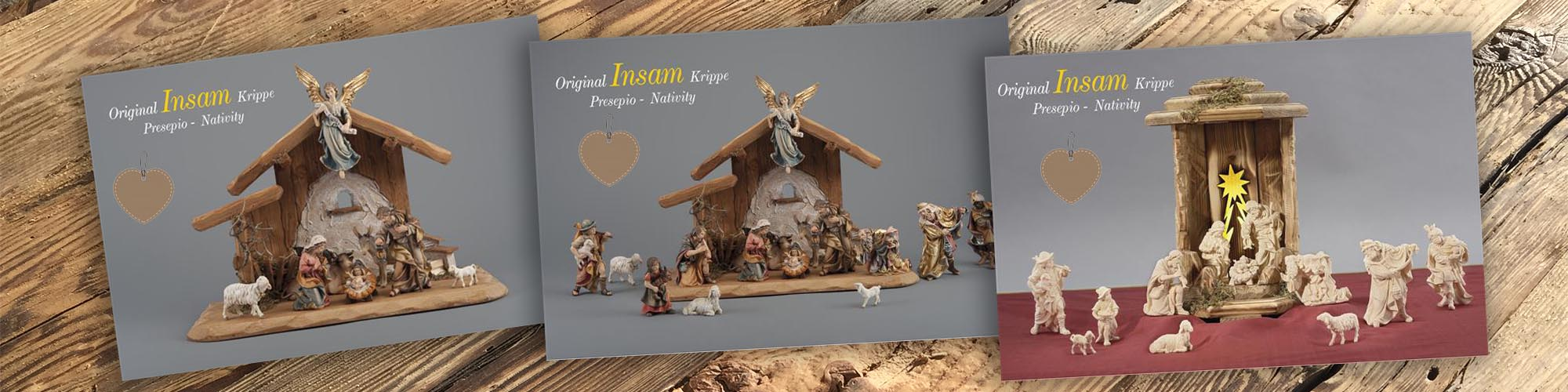 Insam Nativity Sets
