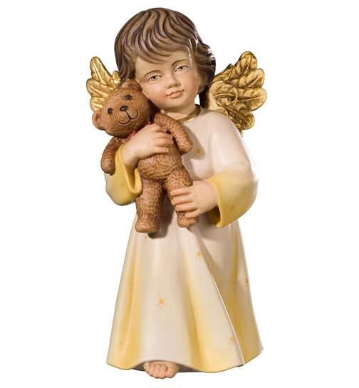 Bendict angel with teddy