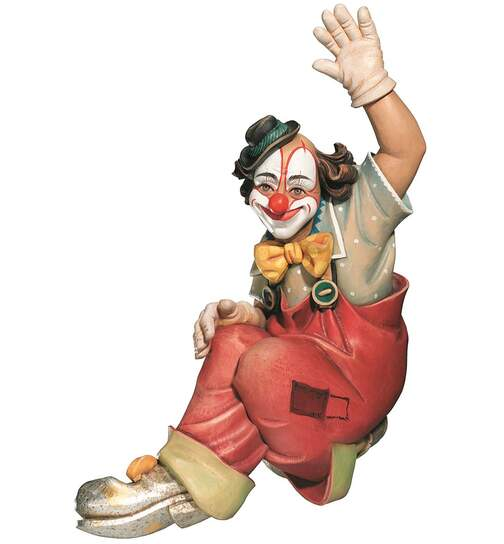 Clown without frame