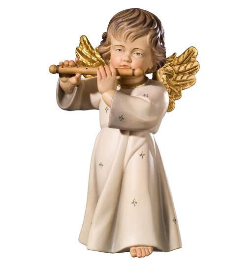 Bendict angel with flute