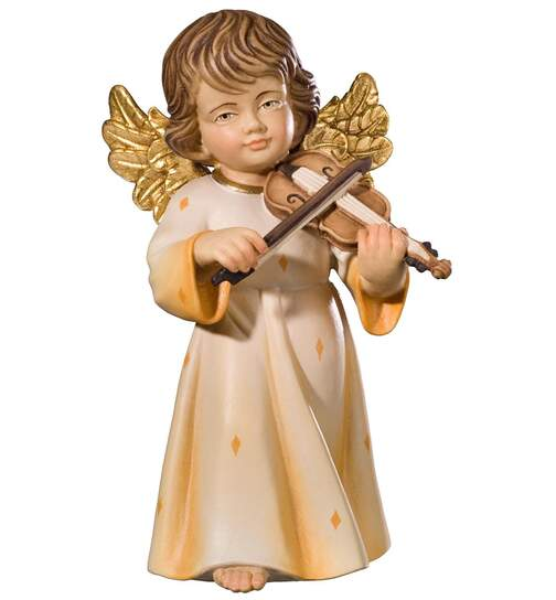 Benedict angel with violin