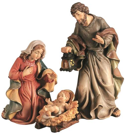 Holy family (4-pieces) - King Nativity