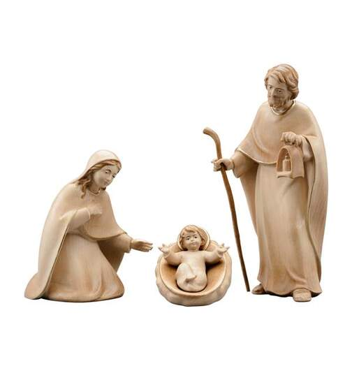Holy family Light with loosely stick and Jesus child - Orig. LIGHT Nativity
