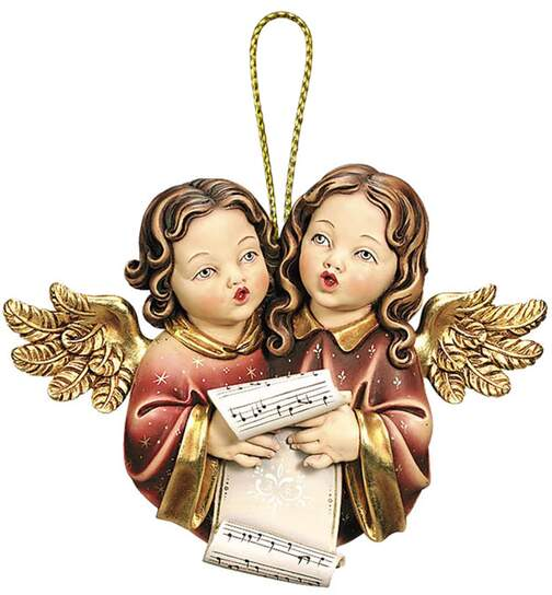 Couple of angels-wall decoration