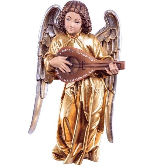 Pacher - angel with mandolin