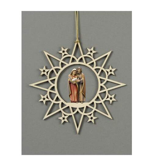 Star with clouds-Group Holy Family Pema