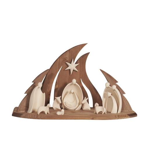Nativity Ambiente Design 11 pcs - stable Ambiente