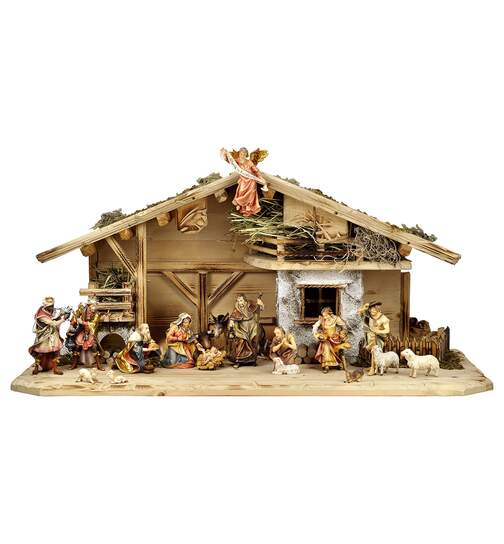 Ulrich Nativity Set - 18 Pieces - Orig. Ulrich Nativity