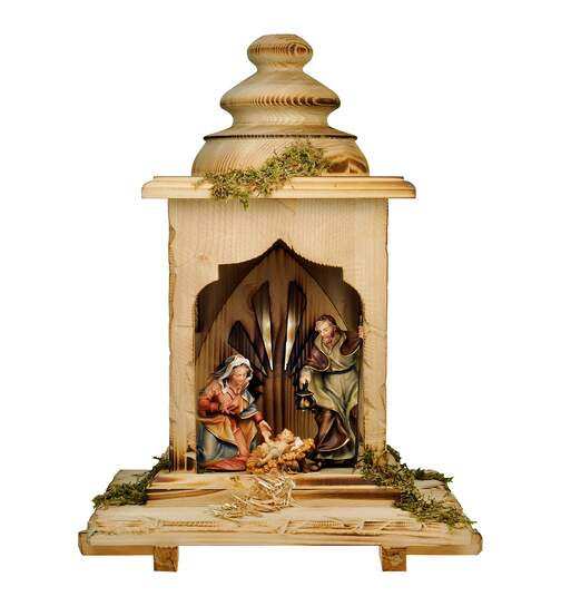 Ulrich Nativity Set - 5 Pieces - With light - Orig. Ulrich Nativity