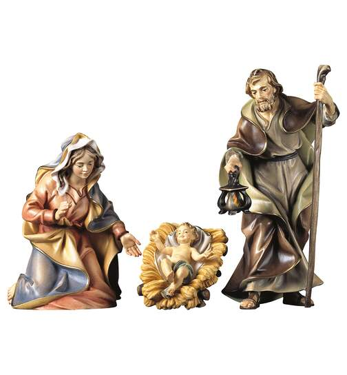 Holy Family - 4 Pieces - Orig. Ulrich Nativity