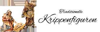 Traditionelle Krippenfiguren aus Holz